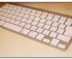 Apple Wireless keyboardを綺麗に