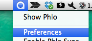 phlo quick search box 設定
