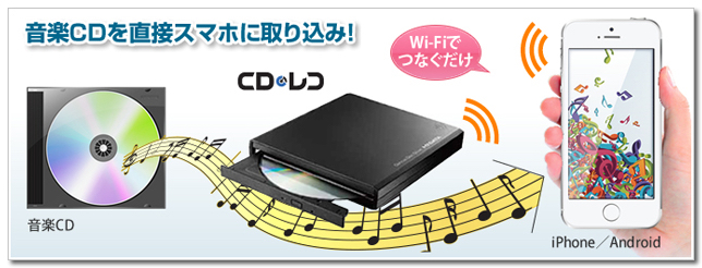 CDレコWi-Fi 評価