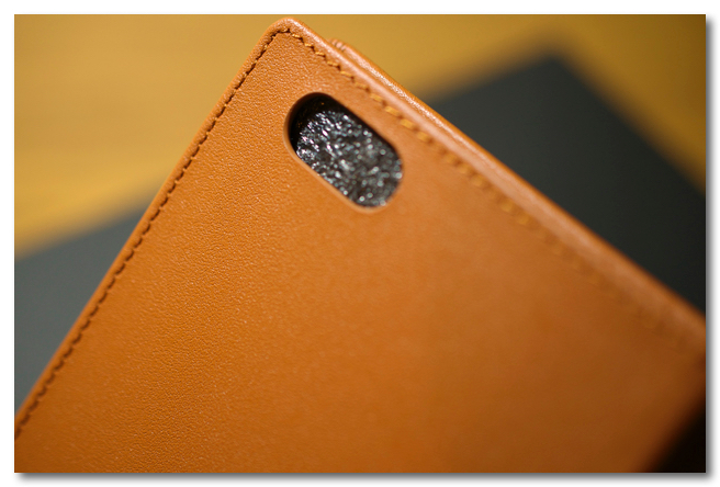 GRAMS Full Leather Case for iPhone 6/6 Plus  カメラ