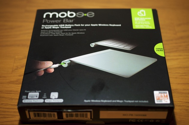 Mobee The Power Bar for Magic Trackpad 購入レビュー