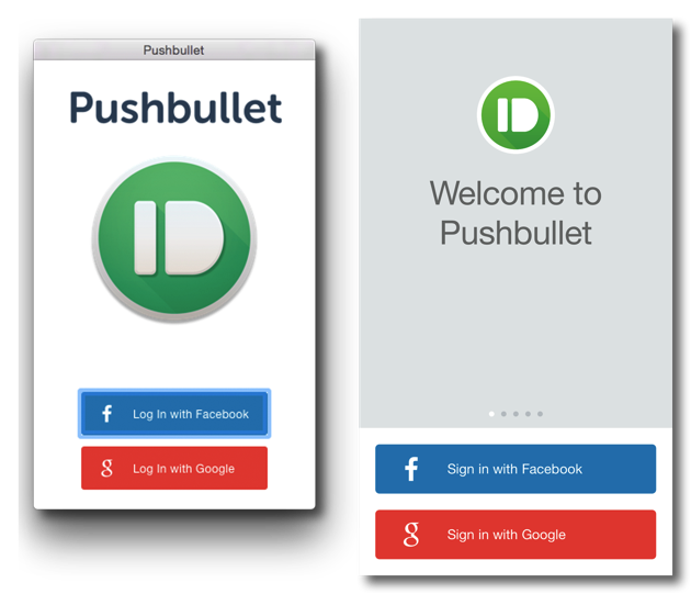 Pushbullet Mac 使い方