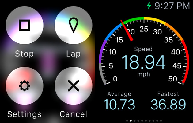 Cyclemeter Apple Watch