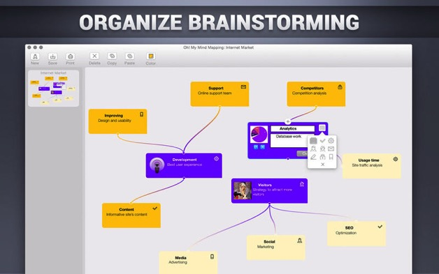 Mac Oh! My Mind Mapping